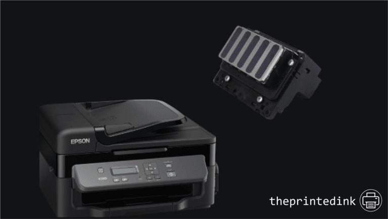 manually clean print heads on epson printer